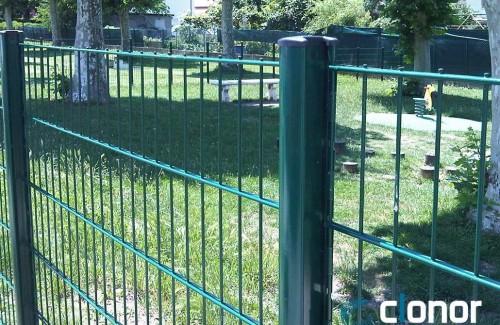 Cloture en panneaux CLOGRIFF 64 panneau BIFILS 205