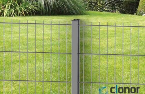 Cloture en panneaux CLOPLUS 40 panneau BIFILS 205