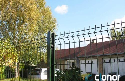 Cloture en panneaux CLOPLUS 40 panneau PLIS 205