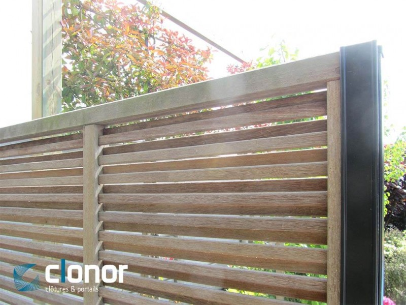 clowill nos produits cl tures panneaux occultation panneaux bois ajour s. Black Bedroom Furniture Sets. Home Design Ideas