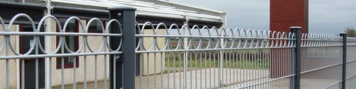 Cloture en panneaux CLOPLUS 75